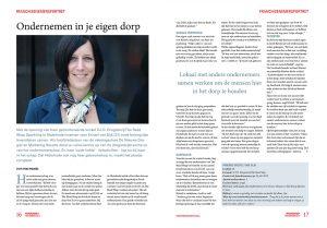 Portret Kristel van Dijk DIO- franchise magazine